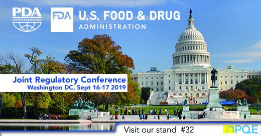 PDA FDA Joint Regulatory conference Washington DC 2019 USA PQE