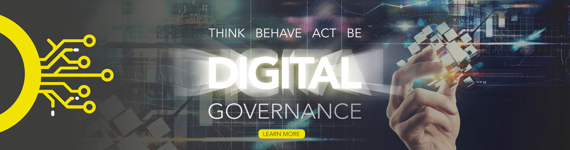 Think Behave Act Be Digital - Digital Governance Services