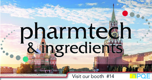 Pharmtech Ingredients 2019 Moscow Russia PQE