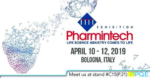 Pharmintech 2019 Bologna Italy PQE