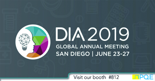 DIA Global annual meeting 2019 San Diego PQE