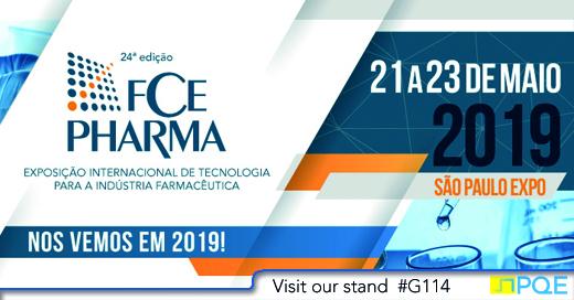 FCE Pharma Sao Paulo 2019 PQE