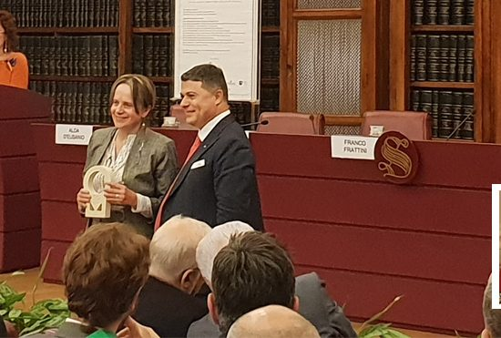 Gilda D'Incerti Italian Senate Mention Work Development Ambassador