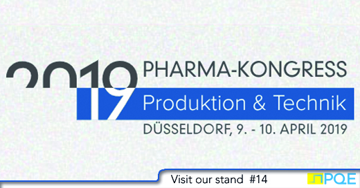 Pharmakongress 2019 Dusseldorf Produktion Technik PQE