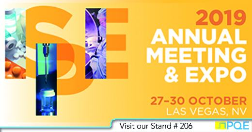 ISPE Annual Meeting 2019 Las Vegas PQE stand #206
