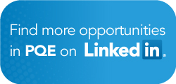 find more PQE jobs on LinkedIN