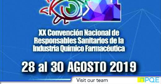 Convencion Nacional Responsables Sanitarios de la Industria Quimico Farmaceutica QNFB Mexico Acapulco 2019