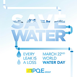 March 22 Water Day-Save Water