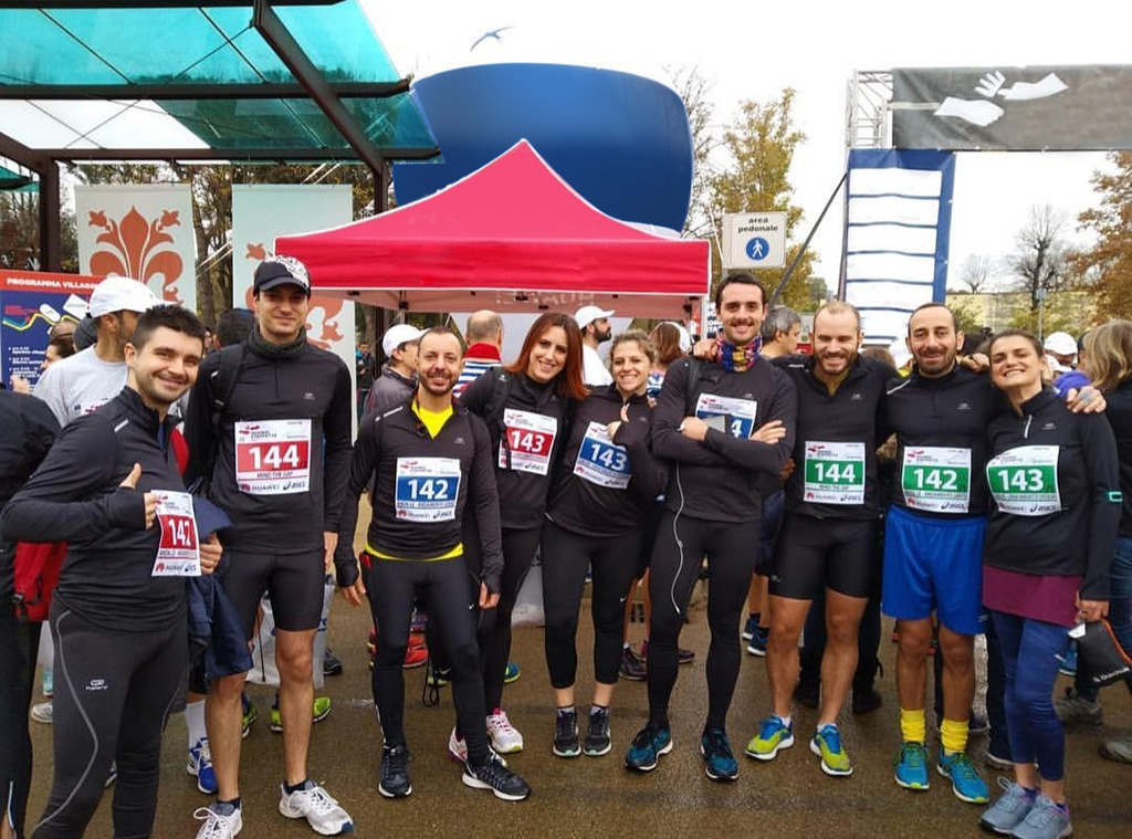 Active Volunteering Teambuilding and Charity by PQE - Rare Partners Florence Charity Relay Run
