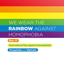 May 17 Pride Day Against Homophobia