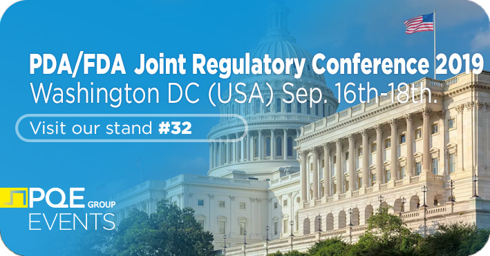 PDA FDA Joint Regulatory Conference Washington DC PQE Group stand 32