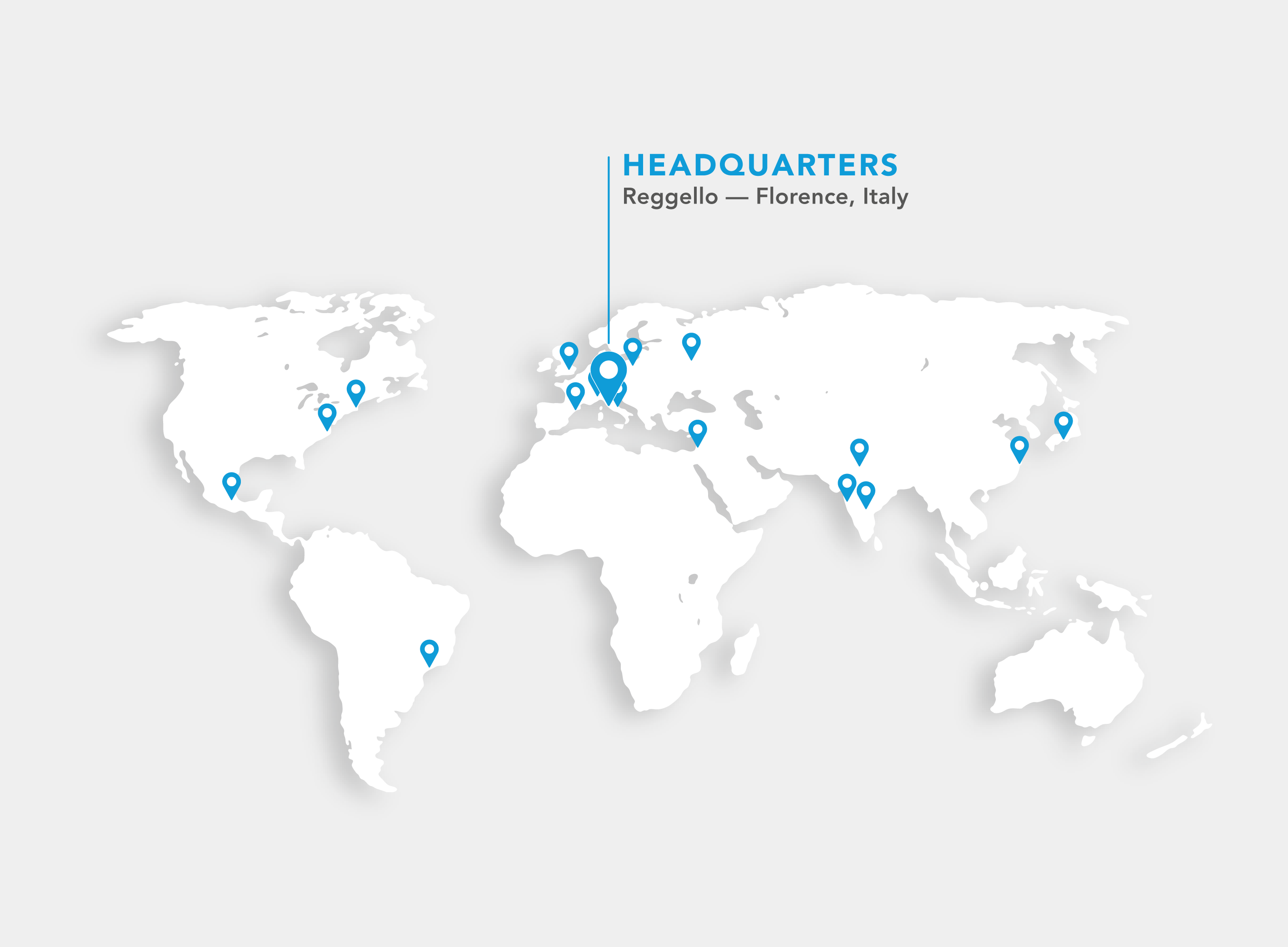 offices world map