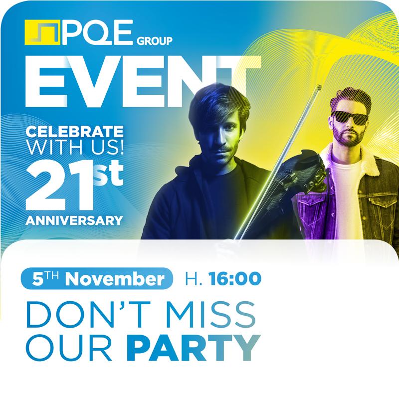 PQE Group Party & Show @ CPhI Worldwide 2019 - Andrea Casta & DJ Giovanni Ursoleo