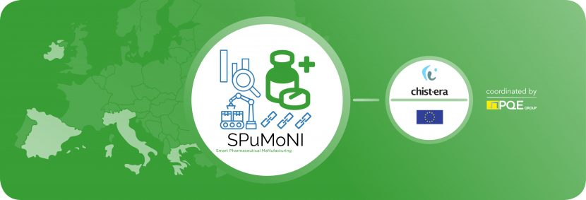 PQE Group Smart Pharmaceutical Manufacturing SPUMONI Coalition - Fareva - University Thessaly - Politechnic Valencia - National College Ireland - EU presidency CHIST-ERA Smart Industry