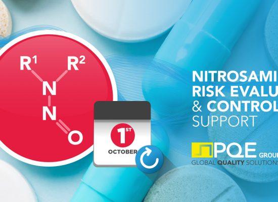 Nitrosamines Risk Evaluation deadline postponed to october 1