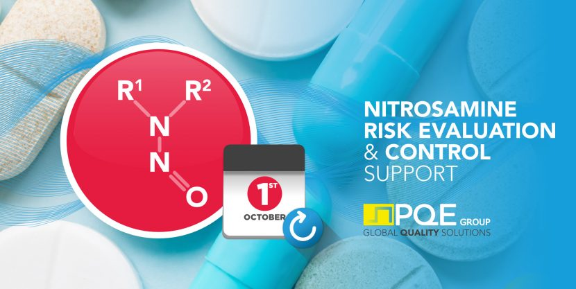 Nitrosamines Risk Evaluation deadline postponed to october 1