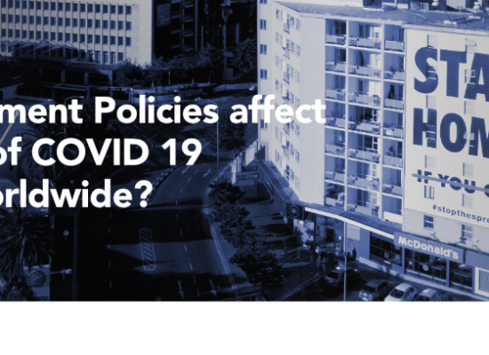 PQE Group - Infodemic Project - How Government Policies affect the number of COVID 19 infections worldwide